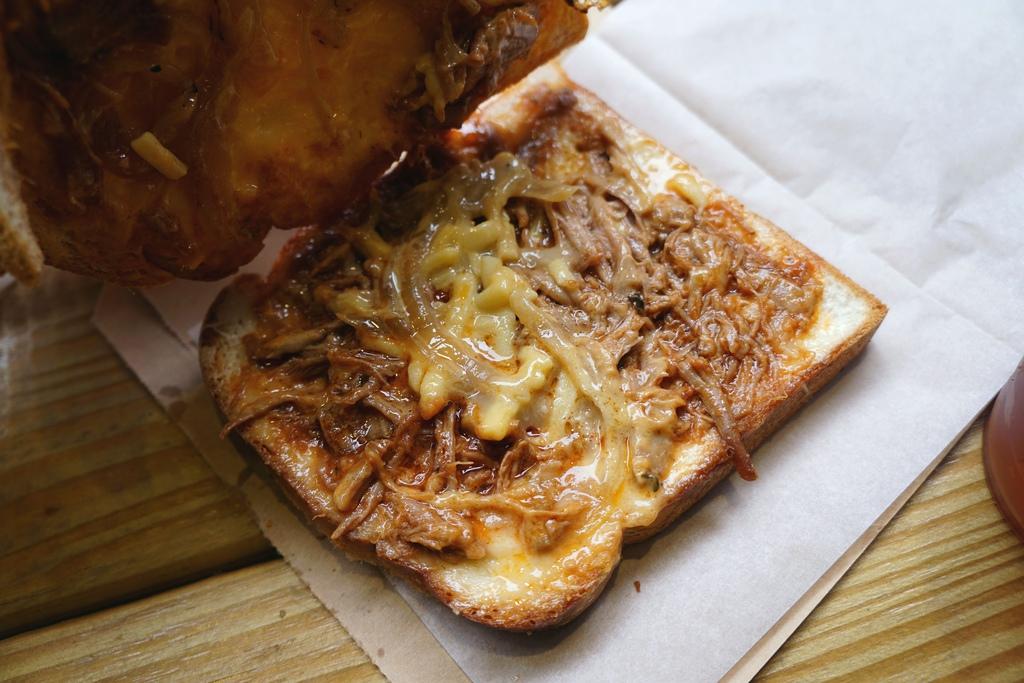 美式BBQ手撕豬肉三明治