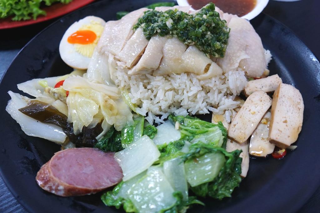 海南雞飯B餐