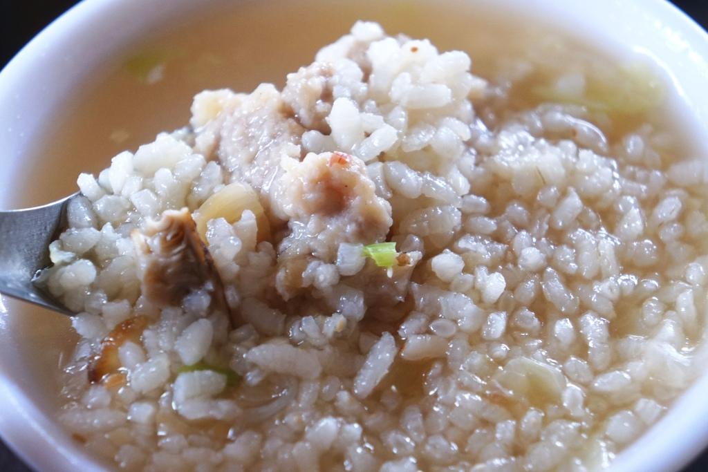 香菇赤肉粥