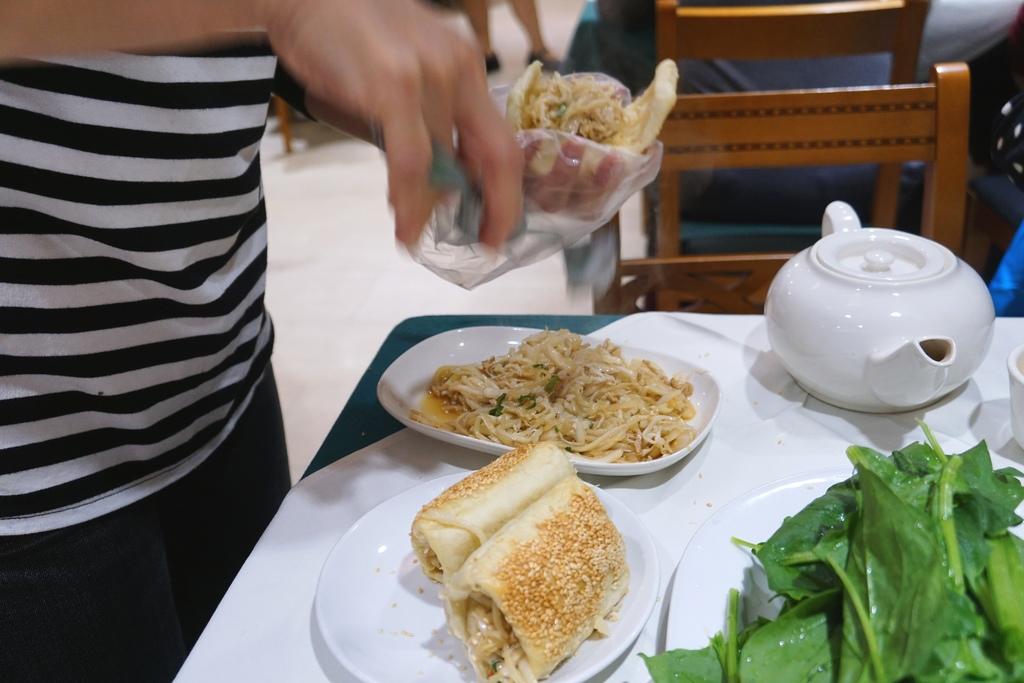 酸菜肉粉&燒餅