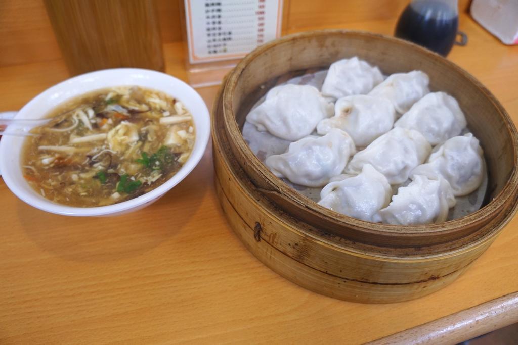 酸辣湯&蒸餃