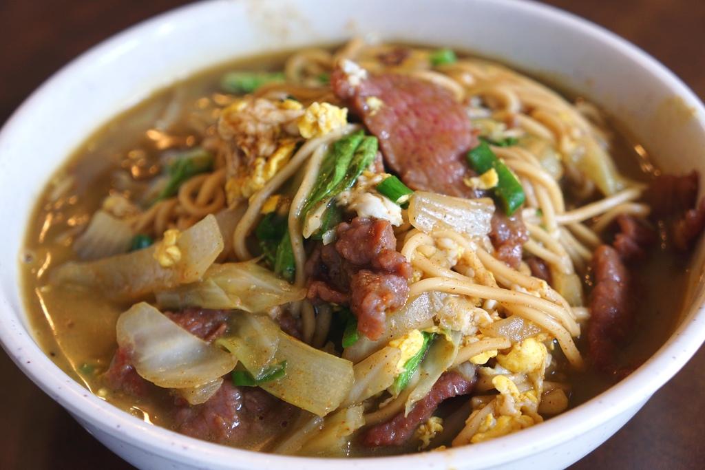牛肉咖哩炒麵