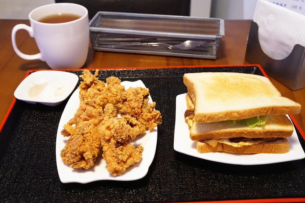 炸雞塊&牛肉燒三明治