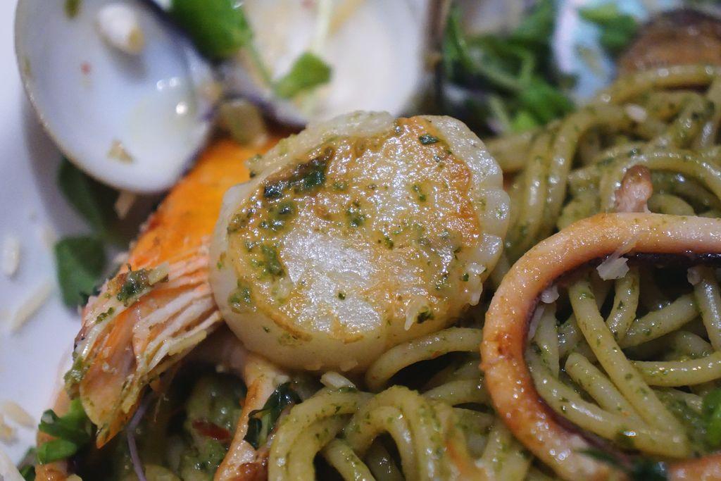 香煎海鮮義大利麵