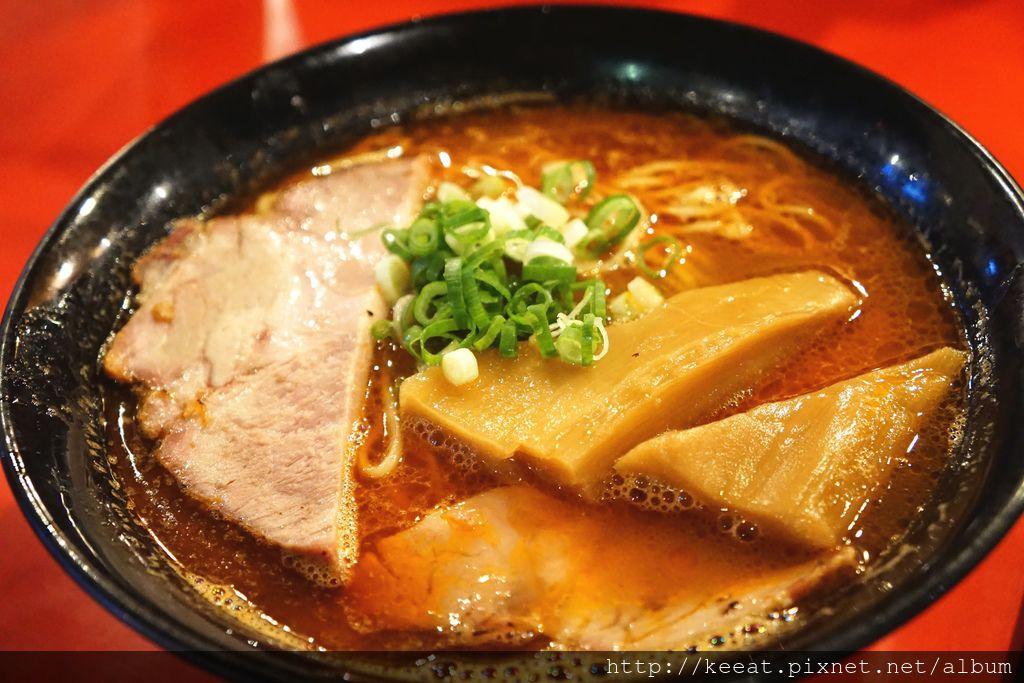 濃出汁蝦湯麵