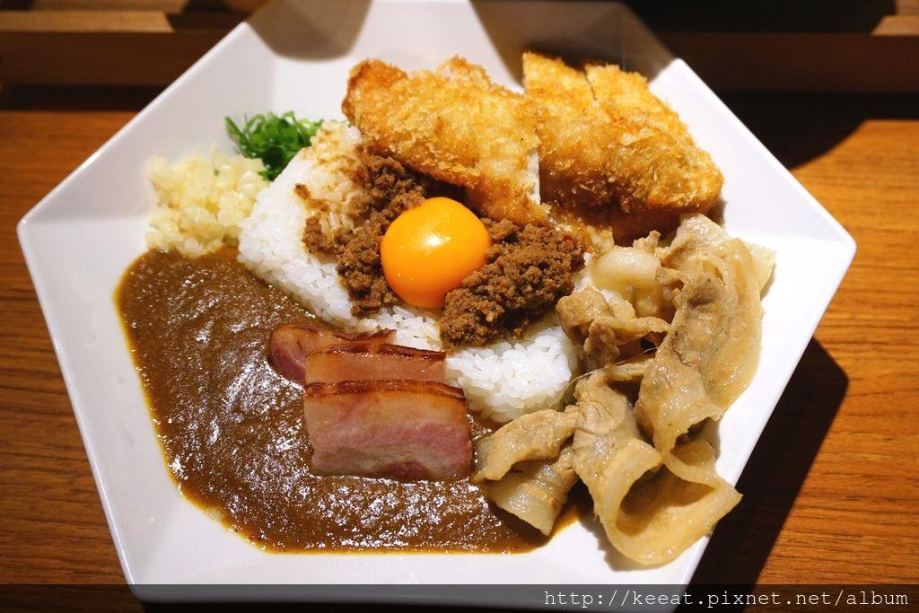 綜合咖哩飯