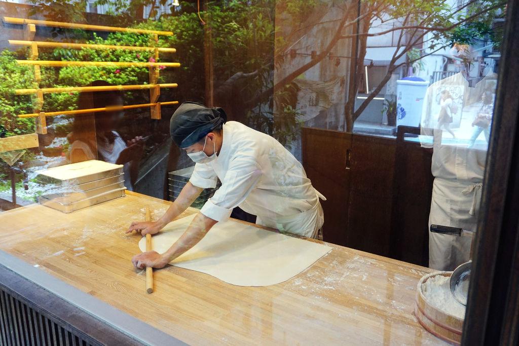 製作烏龍麵
