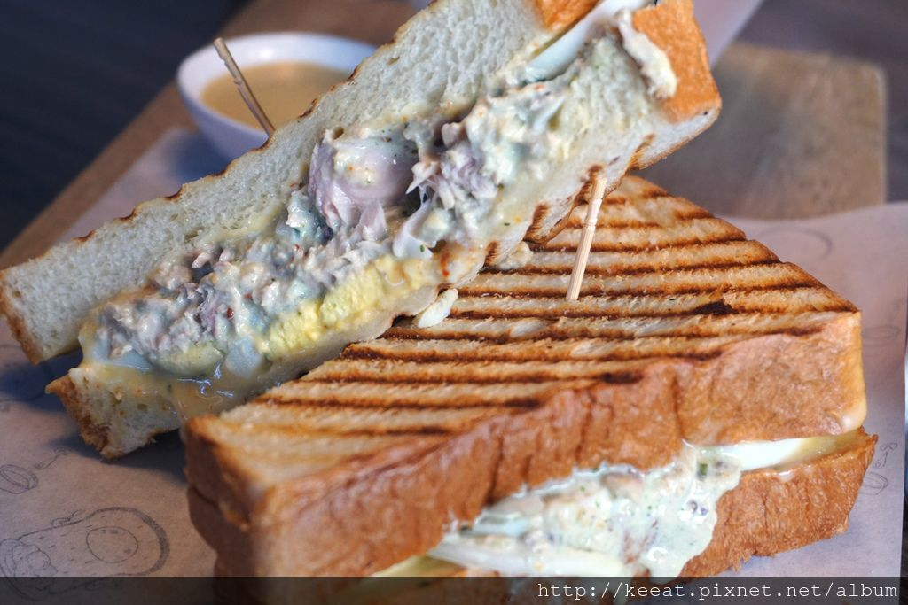 法式青醬鮪魚帕尼尼