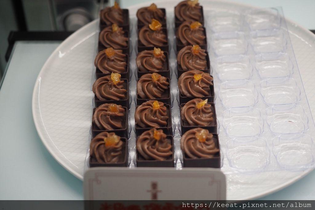 米歇爾橙雪巧克力$85