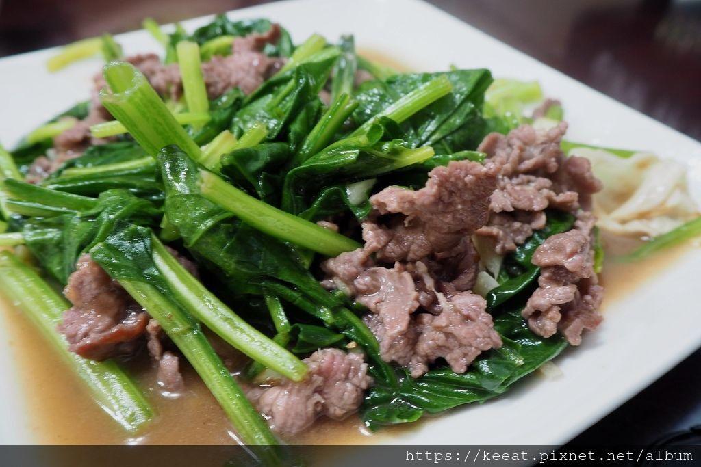 菠菜炒牛肉$120
