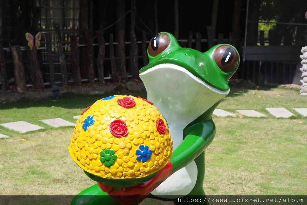 青蛙裝置藝術