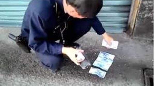 好爽「有一萬元」在車輪下 詐騙手法碰了讓你賠更多