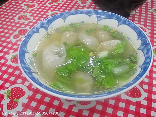 蝦仁扁食湯
