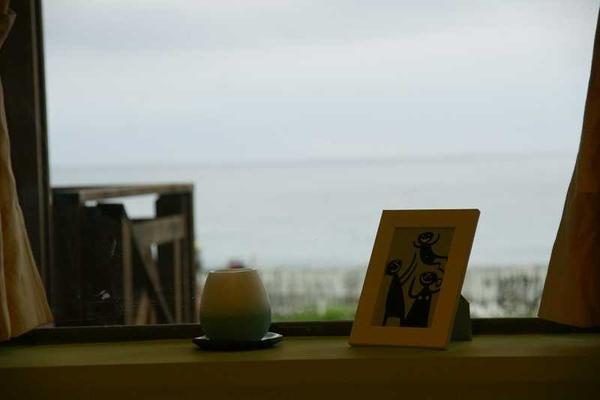 望海臥房窗外景致。