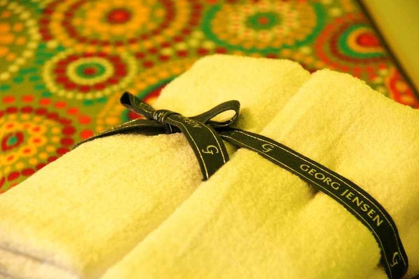 溫馨的毛巾