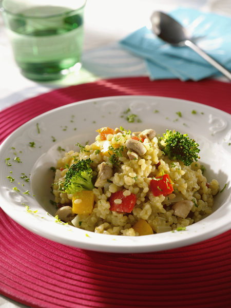 田園蔬菜燉飯