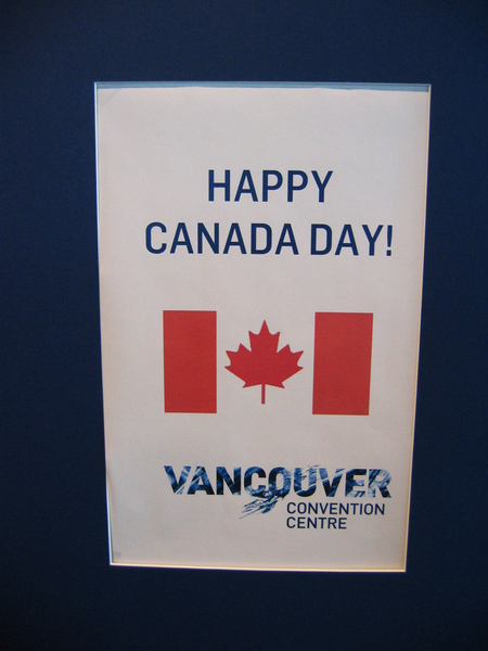 Vancouver Convention Centre~Happy Canada Day!