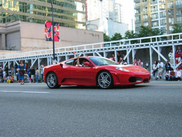 Canada Day Parade~法拉利都來了
