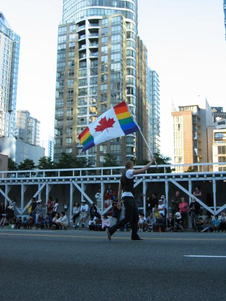 Canada Day Parade~彩虹版國旗!