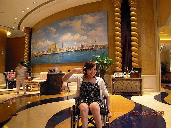 16浦索菲特酒店大廳