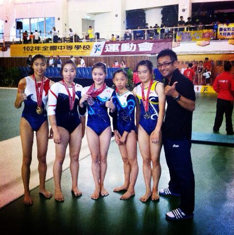 高女組單項決賽共獲1金1銀1銅