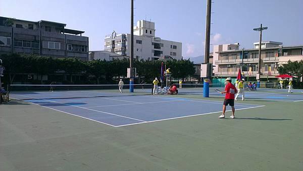 麟洛國中軟網比賽1