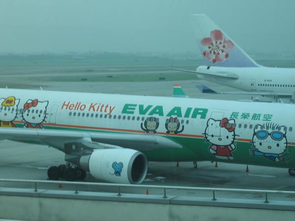 長榮的kitty飛機