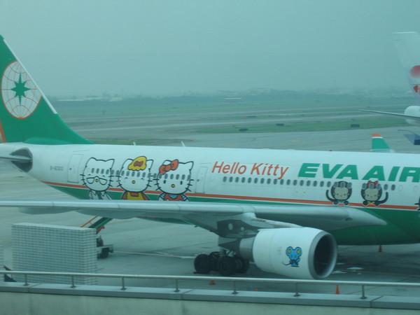 長榮kitty飛機