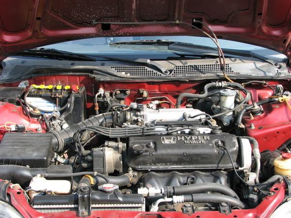 引擎是蠻乾淨的