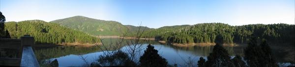 翠峰湖觀景台全景