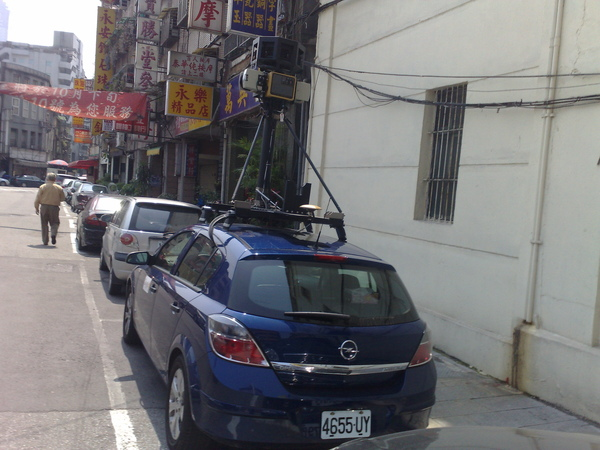google map取景車