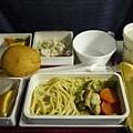 第一次吃飛機餐好新鮮