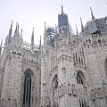 完全是米蘭大教堂的寫真