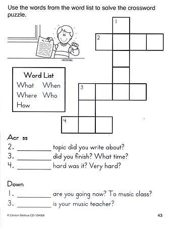 (1) SIGHT WORDS PUZZLES & GAMES - PAGE 43