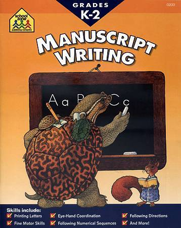 (6) MANUSCRIPT WRITING - COVER