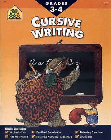 (7) CURSIVE WRITING - COVER