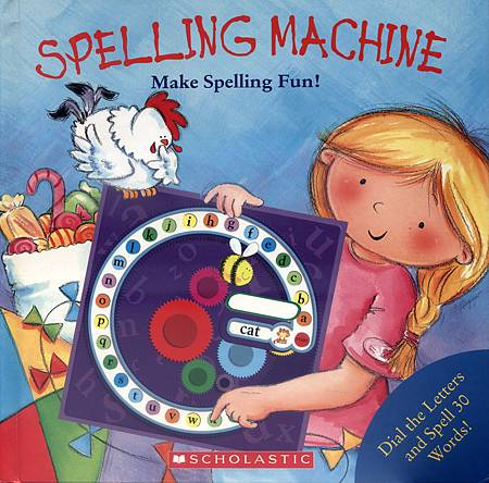 SPELLING MACHINE - COVER