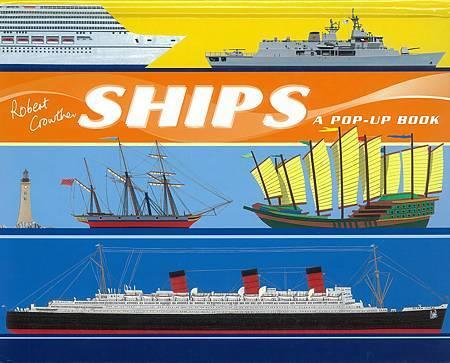 A POP UP BOOK - SHIPS