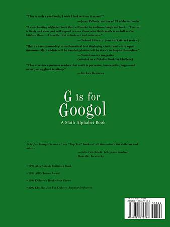 G IS FOR GOOGOL - BACK PAGE