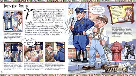 YOU WOULDN'T WANT TO BE A CHICAGO GANGSTER! - PAGE 8+9