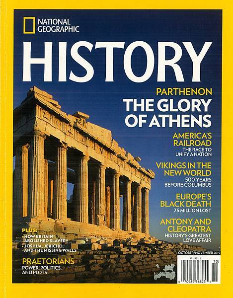 NATIONAL GEOGRAPHIC - HISTORY - THE GLORY OF ATHENS - COVER PAGE.jpg
