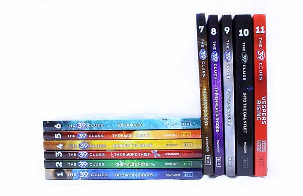 The 39 Clues 1 To 11 Books Collection Set.jpg