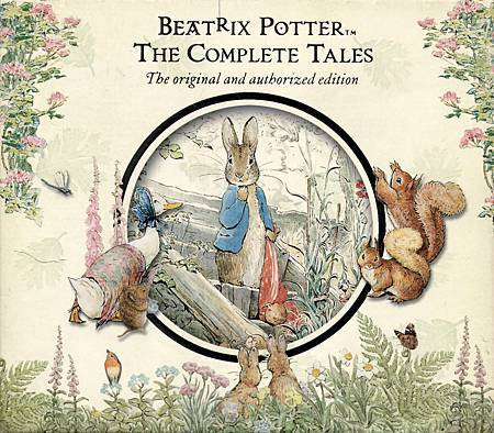 BEATRIX POTTER - THE COMPLETE TALES CD 盒外包裝正面.jpg