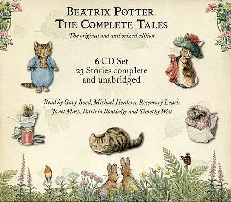 BEATRIX POTTER - THE COMPLETE TALES CD 盒外包裝反面.jpg