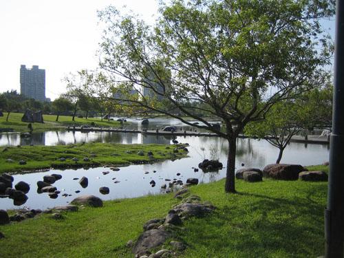 羅東運動公園一角