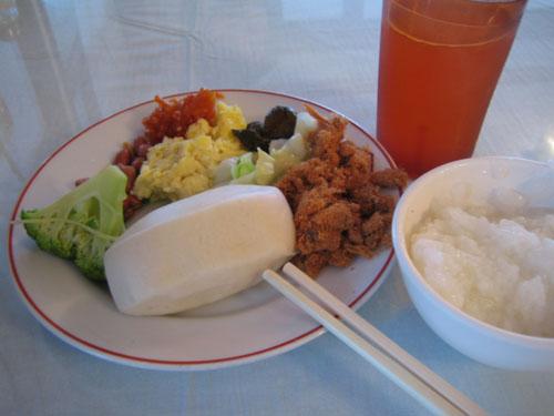 021阿里山賓館早飯