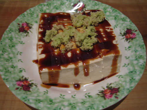 046土產山葵豆腐