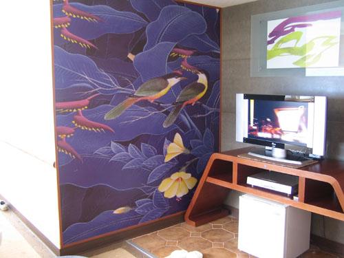 SPAHOME TV&壁畫