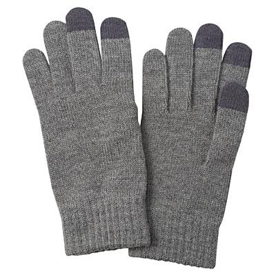 羊毛混立體編織觸控手套灰色.jpg