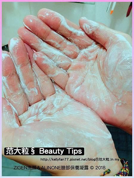 ZIGEN洗顏&ALINONE臉部保養凝露06.jpg
